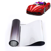 Верхнее переднее лобовое стекло фольга Солнечная защита градиент черный 20x150 см Автомобильная Тонировочная пленка с скребком и ножом