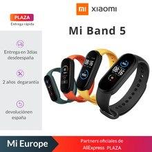 Nouveau Xiaomi Mi Band 5 Version mondiale montre intelligente WAMOLED écran tactile bracelet Fitness Tracker moniteur de fréquence cardiaque étanche
