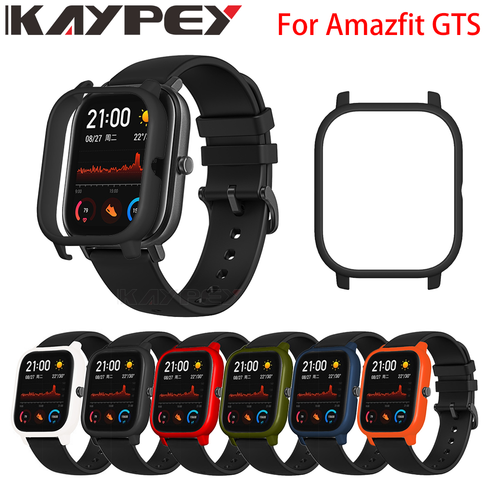 Colorful Frame PC Case Cover For Xiaomi Amazfit GTS Smart Watch Protect Shell For Xiaomi Huami Amazfit Gts Watch Accessaries