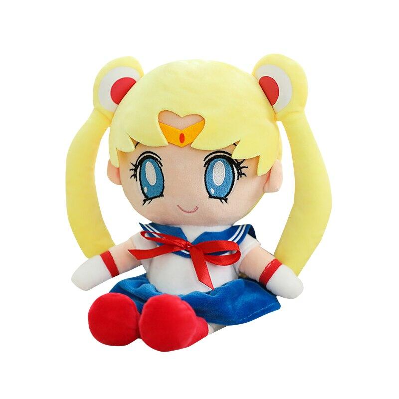 Sailor Moon Plush Cat Luna Plush Toy Animal Plush Dolls Figure Toys