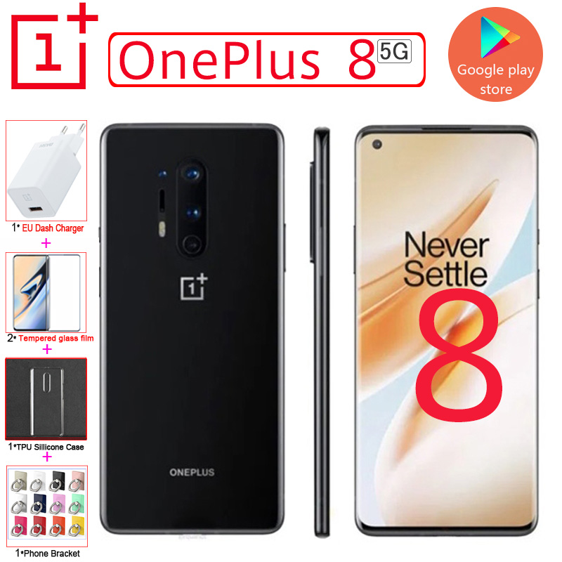 2020 New 5G Global OnePlus 8 mobile phone Snapdragon 865 6.55
