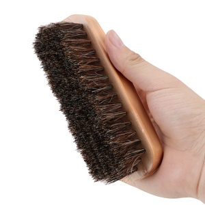 Image 4 - Cuidado automático punho de madeira detalhando ferramentas de limpeza lavagem de carro horsehair escova detalhe limpo escova auto interior mais limpo