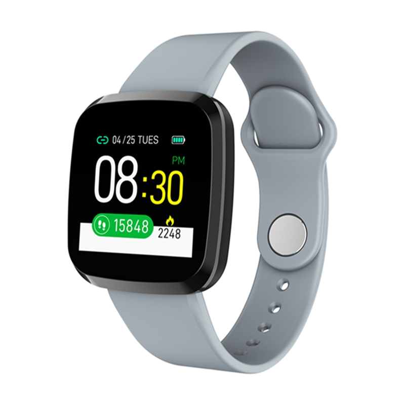 Bakeey <font><b>P3</b></font> Integrated Body IPS Screen 24h Heart Rate O2 Blood Pressure Monitor 200mAh Message Data Storage buletooth <font><b>Smart</b></font> <font><b>Watch</b></font> image