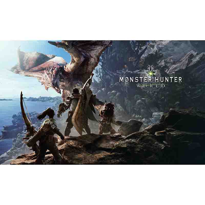 Monster Hunter World Gaming Mouse Pad MHW3 GSX PC Games Action Figure Playmat Deck Gaming Mouse Pad
