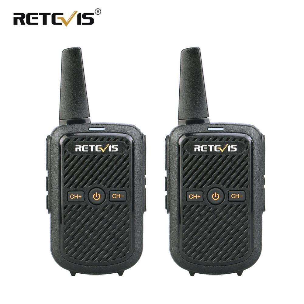 Retevis Walkie-Talkie Radio-Station Communicator Usb-Charging-Transceiver Mini UHF Two-Way