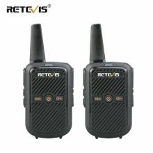 Retevis RT15 Mini Walkie Talkie 2pcs Portable Two Way Radio Station UHF VOX USB Charging Transceiver Communicator Walkie Talkies