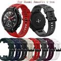 Ремешок сменный спортивный для часов Huami Amazfit T-Rex, мягкий силиконовый регулируемый браслет для Xiaomi Amazfit T-Rex