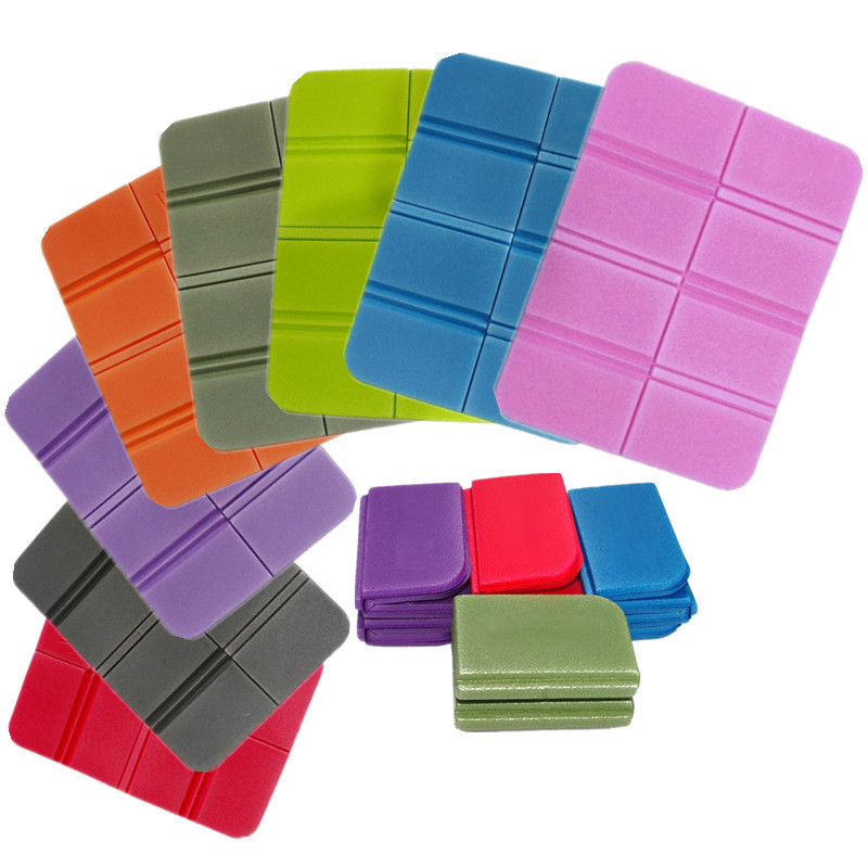 Folding Seat Mat Portable Moisture-proof Camping Seat Durable Cushion Pad XPE Material Outdoor Picnic Accessory Waterproof 1Pcs
