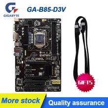 GA-B85-D3V para gigabyte GA-B85-D3V placas-mãe B85-D3V soquete lga1150 ddr3 para intel b85 b85m desktop original usado mainboard