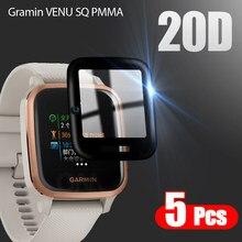 20D Защитная пленка с изогнутыми краями для умных часов Gramin VENU SQ / Gramin VENU SQ аксессуары для защиты экрана (не стекло)
