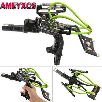 1Set Catapult Bow Fishing Archery Sling Hunting Slingshot Laser Slingbow Bowfishing Darts Hunting Shooting Fishing Accessories