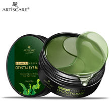 ARTISCARE Seaweed Hydrating Crystal Eye Mask Eye Patches Mask for the Face Nourishing Firming Under the Eyes Fade dark circles(China)