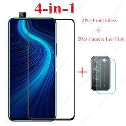 На Алиэкспресс купить стекло для смартфона 2pcs glass for honor x10 5g tempered glass for huawei honor 9c 9s 9a 9x lite 20 pro 20s 8s 8x screen protector camera len film