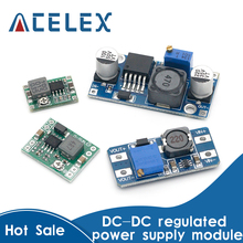 Voltage-Regulator-Module Stabilized Boost Buck MP1584EN LM2596S-ADJ MT3608 DC-DC