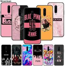 Blackpink Kpop Girls Case for Oneplus 7 Pro 5G 6 6T Black Silicone Soft Phone Cover Coque Oneplus7 Oneplus6T Oneplus6 Shell Cela