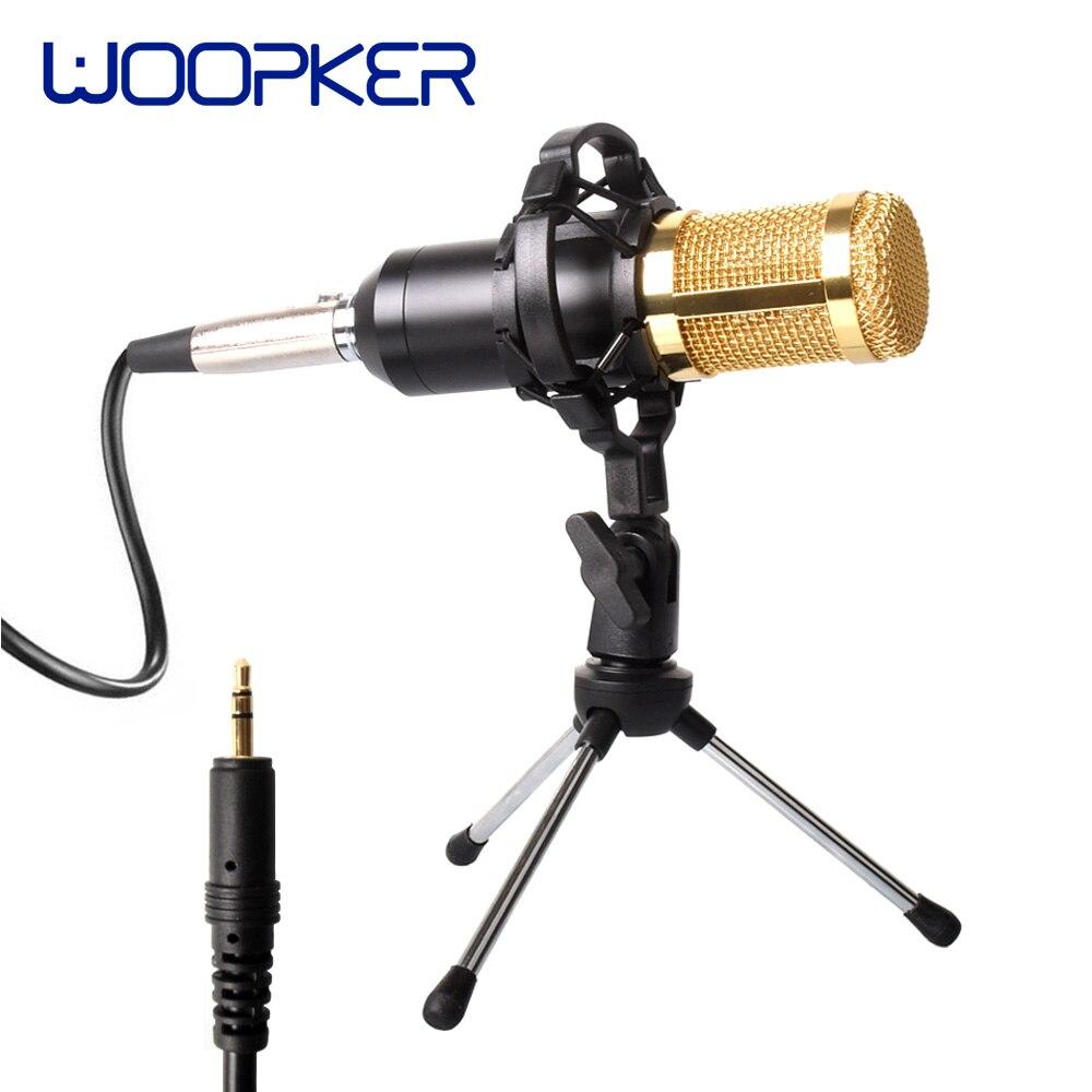 Профессиональный конденсаторный микрофон BM800 с ударным креплением, конденсаторный микрофон для звукозаписи, микрофон для радиовещания