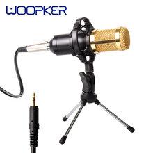 BM800 profesyonel kondenser Mikrofon şok dağı ile Mikrofon Condenseur ses kayıt Mikrofon radyo yayın