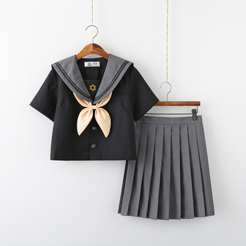 Hexagon Star JK Uniform Kansai Cardigan Long Sleeve Sailor Suit Female School Uniform Suit Variety Sakura Anime cosplay christal whelan kansai cool
