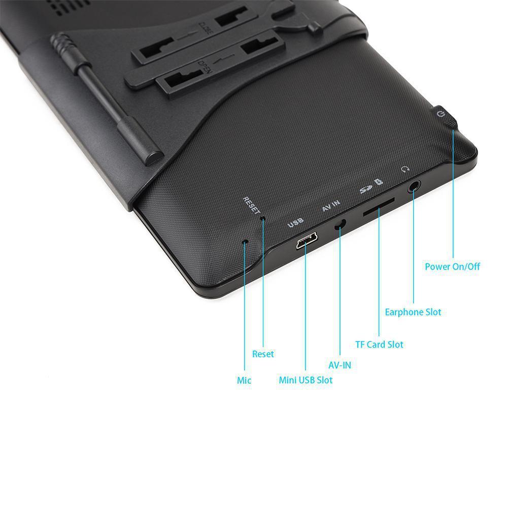 7 дюймов HD RAM 256MB ROM 8G GPS навигация автомобильный навигатор грузовика