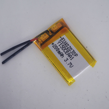 EU402030P 4X20X30mm  3.7v 200mAh li-ion Lipo cells Lithium Li-Po Polymer Rechargeable Battery For Bluetooth GPS MP3 MP4 Recorder цена