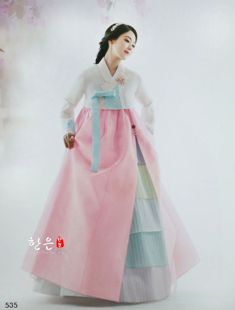 South Korea Imported The Latest Bride Hanbok / Toast Wedding Hanbok