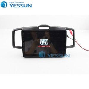 Image 3 - Yessun Auto Android Multimedia Speler Voor Honda Freed Gps Navigatie Grote Scherm Spiegel Link Auto Radio Bluetooth