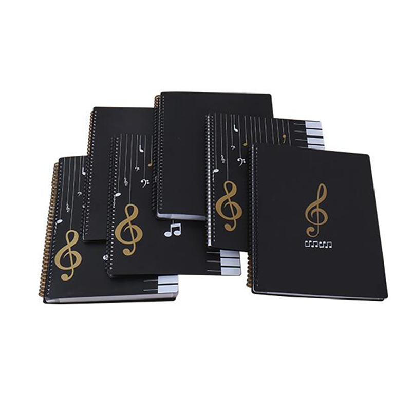 40-100 Pages A4 Piano Paper Sheets Document File Organizer Folder  Piano Score Storage Organizer Accessories