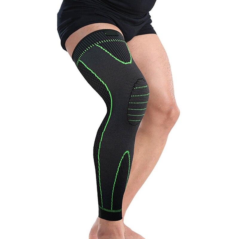 Men And Women Bicycle Legwarmers Warm Cycling Legging Bike  Elastic Stripe Leg Warmers SleeveNew