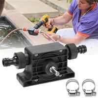 Hand Electric Drill Water Pump Convenient Type Direct Water Pump Since Suction Centrifugal Pump Household Small Pumping