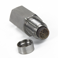 1x Stainless Steel Check Engine Light O2 Sensor CEL Eliminator Adapter Spacer Catalytic Converter 촉매 변환장치    -