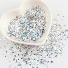 Sparkling-Manicure-Decor Glitter Paillettes Sequin Nail-Art Holographic Cross-Star Wholesale