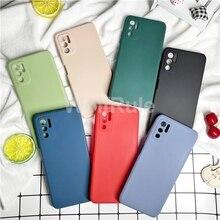 Original Liquid Silicone Luxury Case For Xiaomi Poco M3 Pro X3 GT F3 Protective Case For Poco X3 NFC M3 Shockproof Back Cover