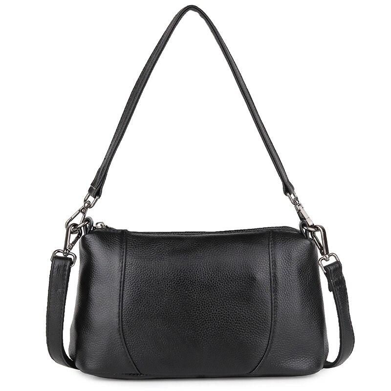 Luxury Cow Leather Shoulder Bag Zipper High quality Handbag Women Tote Bag Luxury Cross Body Bag Purses Handbags