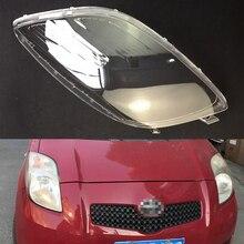 Для Toyota Yaris 2008 2009 2010 2011 Автомобильная фара прозрачная линза автомобильный брелок крышка