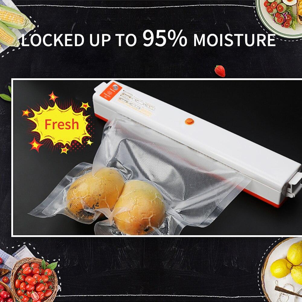 FUNHO 110 V-220 V лучший вакуумный упаковщик для пищевых продуктов Sous Vide вакуумная упаковочная машина контейнер для Пленки Пищевой упаковщик ваку...