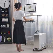 Heben computer tisch Stehen Schreibtisch einstellbare höhe kinder tisch stehend laptop tisch einfache mobile nachttisch 80cm