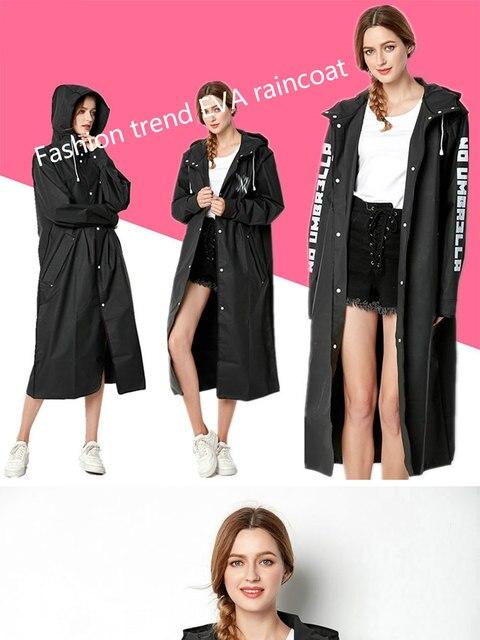 Eva women raincoat rainwear men ra