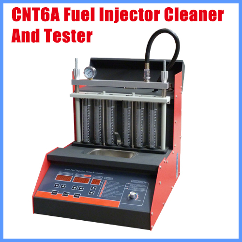CNT6A Fuel Injector Cleaner And Tester With Russian Language Panel English Language Panel Better than LAUNCH <font><b>CNC602A</b></font> image