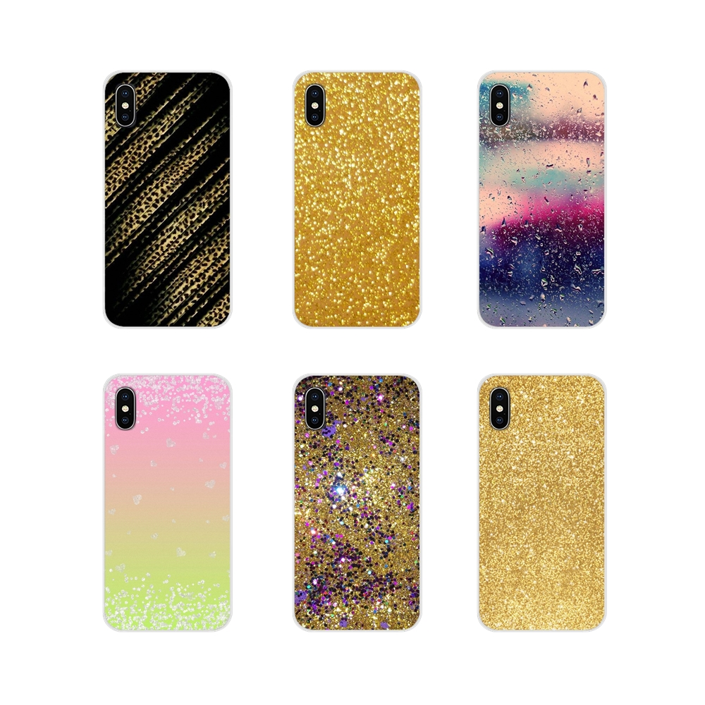 Silicone <font><b>Case</b></font> Cover New Style Sparkle <font><b>Glitter</b></font> Gold Bling For Samsung A10 A30 A40 A50 A60 A70 Galaxy S2 Note 2 <font><b>3</b></font> <font><b>Oneplus</b></font> 3T 5T 6T image