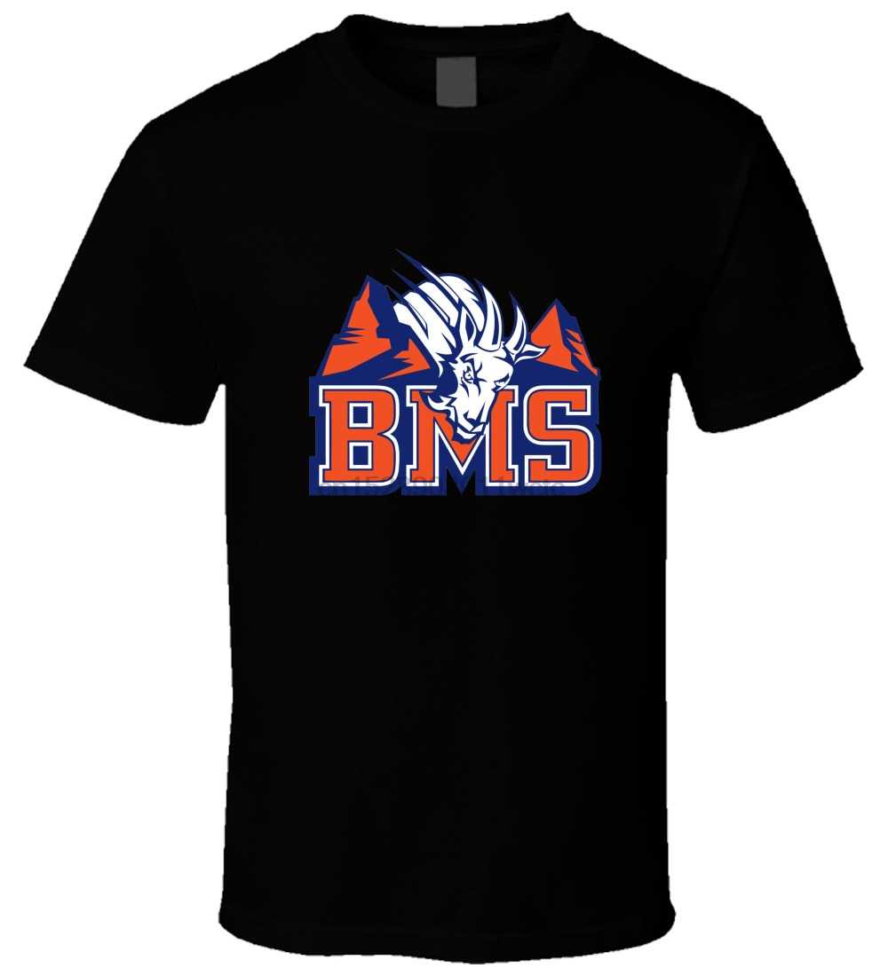 Bms Blue Mountain State 5 Nero T Shirt