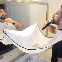 Delantal del baño para hombre, Barba Negra, afeitado, impermeable, Floral, paño para limpieza de hogar, Protector, 1 ud.