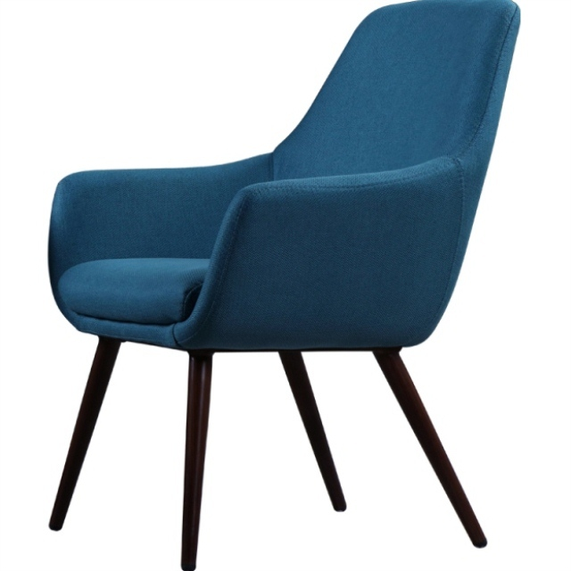 Nordic Sofa Green Leather Single Coffee Chair Modern Minimalist Designer  Net Red Lounge