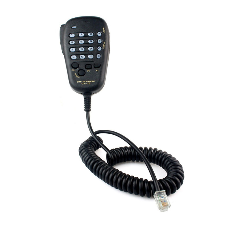 Promotion--MH-36 DTMF Speaker Microphone Mic For Yaesu FT-2600M FT-8000R FT-3000M Radio MH36B6J