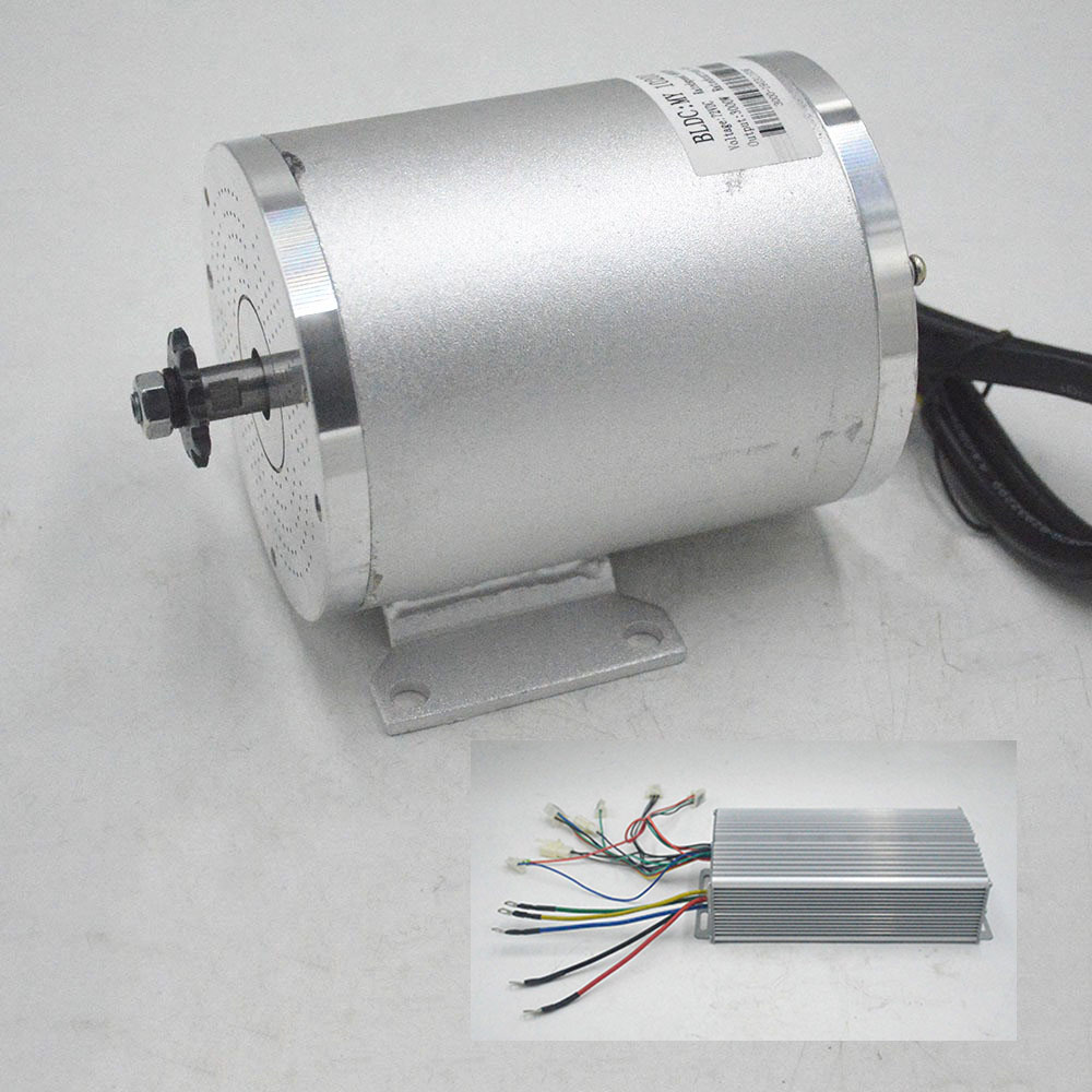 Electric Scooter 72V <font><b>3000W</b></font> BLDC <font><b>Motor</b></font> Kit <font><b>Brushless</b></font> Controller E-BIKE Engine Motorcycle Part Electric Scooter Conversion Kit image