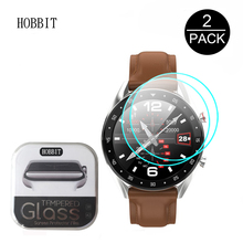 2Pack 0.3mm 2.5D 9H Clear Tempered Glass Screen Protector For LEMFO 2019 Newest Ip68 Smart Watch Men Anti-scratch Glass 1.2inch