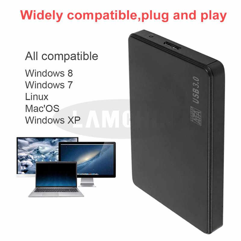 طابعة للبطاقات اللاصقة 2.5 بوصة USB 3.0 SATA 3.0 SSD قالب أقراص صلبة التوصيل والتشغيل يدعم 3 تيرا بايت نقل بروتوكول UASP صندوق القرص الصلب