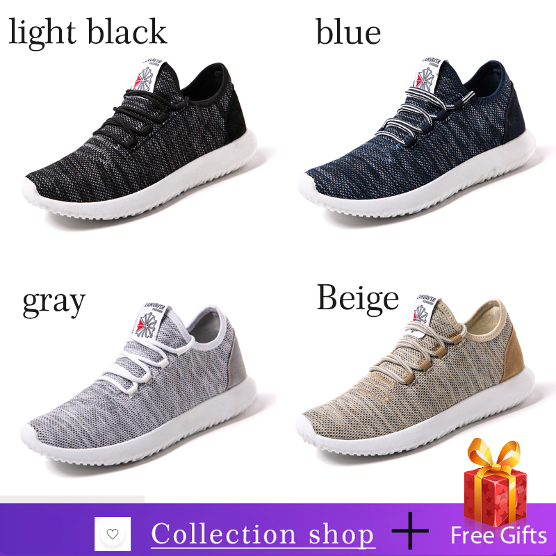 Men Casual Shoes Lightweight Breathable Male Black Flats Loafers Casual Shoes Men Sneakers Zapatos De Hombre
