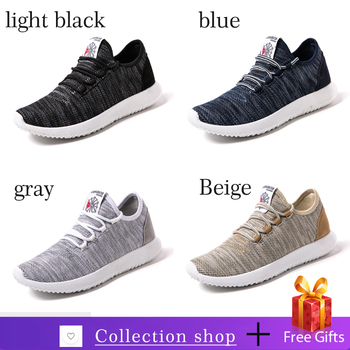 Men Casual Shoes Lightweight Breathable Male Black Flats Loafers Casual Shoes Men Sneakers Zapatos De
