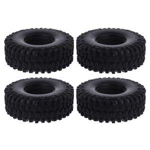 4 шт. 1/10 RC автомобили резиновые шины 1,9 дюйма 120*42 мм колеса шины для 1:10 Рок Гусеничный осевой SCX10 II 90046 RR10 Рейф Traxxas TRX4