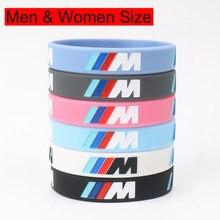 2 шт., силиконовые браслеты с гравировкой логотипа, 7 цветов